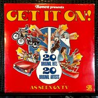 Ronco Presents GET IT ON! SEALED Vinyl LP 20 Original Hits P 12101 Love Train