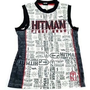Hitman Fight Gear MMA Mens Medium Tank Top Workout Gym Gear