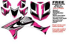 DFR FLOW GRAPHIC KIT PINK SIDES/FENDERS 04-05 HONDA TRX450R TRX 450