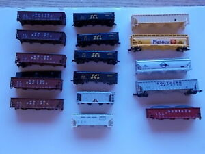 LOT of  N-Scale ATLAS  Hoppers & Others   Needing Restoration