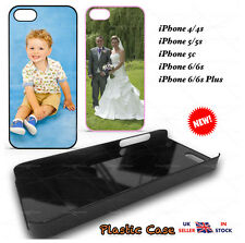 Personalised Phone Cover/Case Any Photo Image Hard Case Cover for iPhone