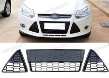 Front Bumper Lower Radiator Grilles Kits For Ford Focus 2012-2014