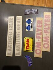 Old School BMX Bicycle SE Racing Decal LOT TEAM Products & More Landing Gear