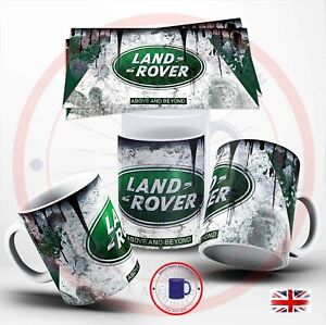 Landrover Retro Vintage Land Rover Oil Can Mug Car Mechanic ,  Mug Landrover