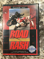 Road Rash (Sega Genesis, 1991) - Game Cart + Case (no manual) - FREE SHIPPING