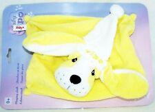 VIPO der fliegende Hund Baby Gelb Schmusetuch Kuscheltuch Schnuffeltuch Neu