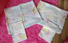 Disney Princess Pink Single Duvet Bedding Bed Set x2 Belle Rapunzel Cinderella