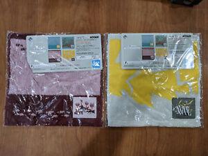 Ichiban Kuji Moomin Relaxing Picnic Time Hand Towel LOT Set of 2 2021 Japan NEW