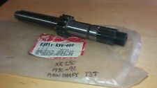 NOS HONDA XR 250 R GEARBOX MAINSHAFT 13T 1990 - 1996 23211-KV6-000 EVO XR250R
