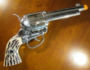 VINTAGE MATTEL FANNER SHOOTIN SHELL TOY CAP GUN 6 SHOT WORKS NO SHELLS COWBOY