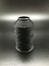 4oz Spool Black T70 1500 Yards Bonded Nylon Sewing Thread #69 Fabric N3