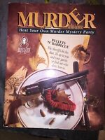 Murder Ala Carte - Bullets & Barbecue by BePuzzled - 1994 Edition Party Vintage