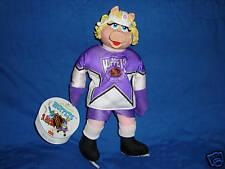 Mcdonalds Muppets NHL hockey Player Plush Miss Piggy