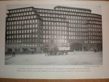 Germany Hamburg The Chile House 1928 printed photograph