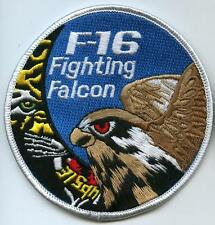 FIGHTING FALCON F-16 SWIRL PATCH COLLECTION: BELGIAN AIR FORCE BAF SQN 31 TIGER