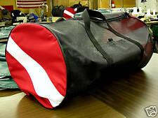 "ORIGINAL MESH ""AIR-DRY"" DIVE FLAG SCUBA GEAR BAG. BLACK!! MADE IN THE USA"