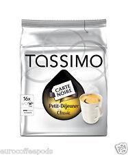 Tassimo carte noire petit dejeuner café-pack de 5 80 t disc/portions
