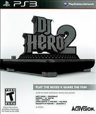 PS3 Playstation 3 ~ DJ Hero 2 ~ Game Only No Turntable or Accessories