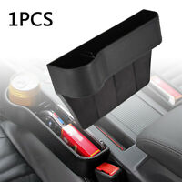 UK Car Seat Slit Gap Storage Catcher Box Pocket Organizer Coin Phone Cup Holders