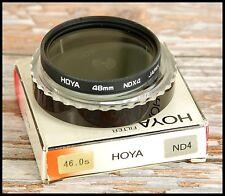 46mm Hoya Neutral Density ND4 filter Great for Digital Landscapes Sky Clouds