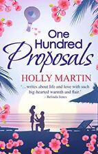 One Hundred Proposals di Martin, HOLLY libro tascabile 9780263918069 NUOVO