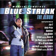 BLUE STREAK THE ALBUM - RAP HIP-HOP ALBUM CD SOUNDTRACK JAY-Z RAEKWON TYRESE TQ