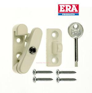 Era Swing Lock for Wooden Windows, Window Swinglock- White 809-12