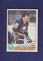 Gary MacAdam RC 1977-78 O-PEE-CHEE OPC Hockey #253 (EXMT+) Buffalo Sabres