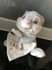 Baby Comfort Blankie Soother Plush Disney Exclusive Thumper Toy Bunny Soft Toy