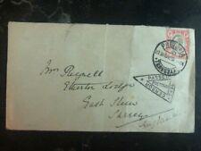 1902 Pretoria South Africa Boer War Censored Cover to  England