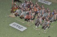25mm dark ages / byzantine - cavalry 12 cavalry - cav (11998)