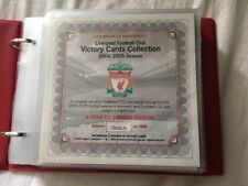 LIVERPOOL FC VICTORY CARDS - Official LFC Victory Card Collection 2004/5 Season