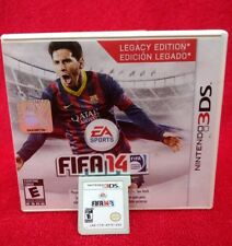 FIFA 14 Nintendo 3DS Legacy Edition Soccer Complete With Manual CIB
