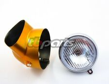 Honda CT70  Headlight & Headlight Bucket Candy Gold 69-71 OEM Replacement & Bulb
