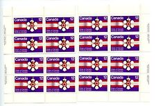 LOT 50204a MINT NH 736 MATCHING SET PLATE BLOCKS ORDER OF CANADA MEDAL