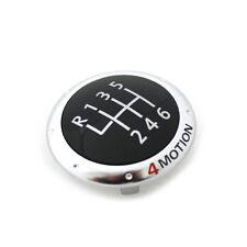 NEU Original VW 4Motion Plakette für Schaltknauf Sport Tuning Emblem chrom OVP!