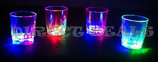 50 PCS LED LIGHT UP DRINK SHOT GLASSES ACRYLIC CUP BARWARE COLA BEER PARTY GLASS
