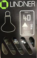 Lindner linodym R80 220v 40w E27 Crecimiento Luz LED Lámpara Planta CLARO
