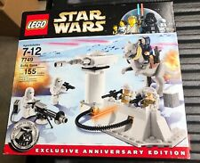 Star Wars Lego 7749 Hoth Planet Echo Base New Sealed Packs Open Box
