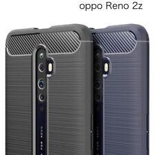 Custodia cover morbida protettiva CARBON DESIGN per Oppo Reno2 Z Reno 2Z 2 Z