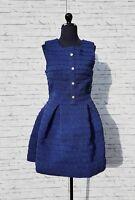 Robe Patineuse  Elastic Manoush Bleu  36 (S/T1)