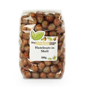 Hazelnuts in Shell 500g   Buy Whole Foods Online   Free UK Mainland P&P