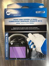 Miller Infinity Series Outside Welding Lens Covers 5 pack Genuine 271320 Front