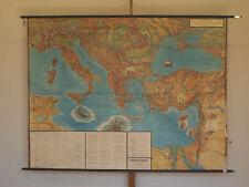 Wall Map Reisen Apostle Paul 212x161 Vintage Wall Chart ~ 1960 Paul the Apostle