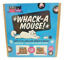 Whack a Mouse Interactive Multi-Sensory Cat Toy Double Sided Cats Play Toys Gift