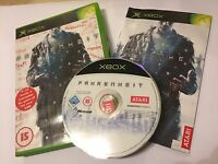 ORIGINAL XBOX GAME FAHRENHEIT PAL +BOX & INSTRUCTIONS . COMPLETE