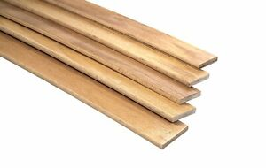 Pack of 10 Birch Wood Sprung 5 cm wide Bed Base Replacement Slats Double King