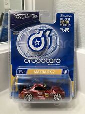 Hot Wheels RED Mazda RX-7 Endless Dropstars 1:50 Scale #G7063 - 0910 VERY RARE