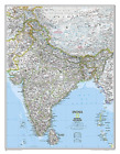 National Geographic: India Classic Wall Map - Laminated (23.5 X 30.... BOOK NEW