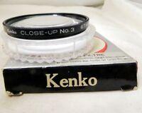 Kenko +3  No 3 Close-Up Macro 67mm  Lens Filter   -  Free Shipping USA